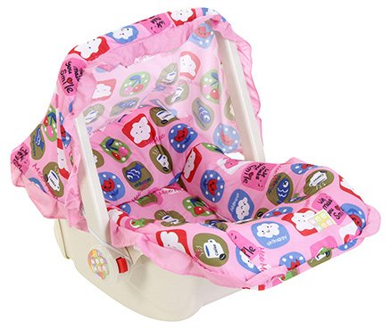 Mee Mee 3 in 1 Carry Cot Multiple Print Pink - Upto 6 kg