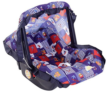 Mee Mee 3 in 1 Carry Cot Bear Print Blue - Upto 6 kg