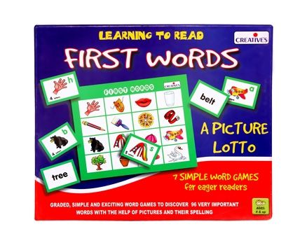 Creatives - Learning to Read First Words