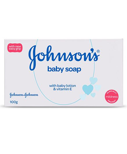 Johnsons Baby Soap, 100 gm