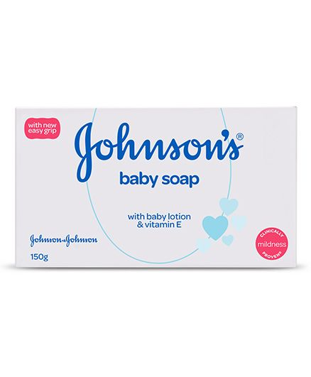 Johnsons Baby Soap, 150 gm