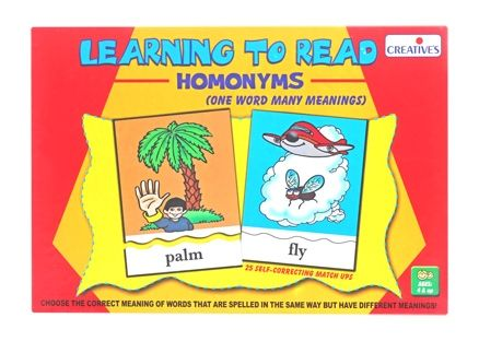 Creatives - Learning to Read Homonyms