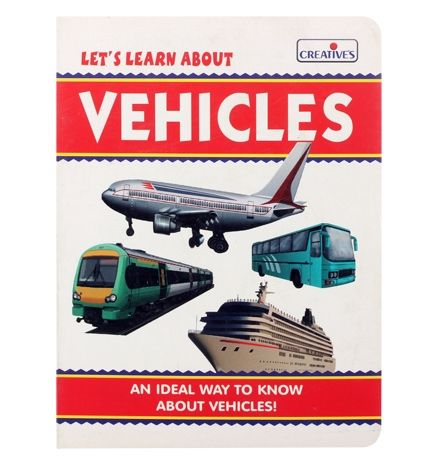 Creatives - Lets Learn About Vehicles