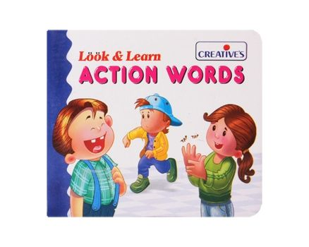 Creatives - Look & Learn - Action Words