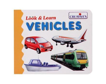 Creatives - Look & Learn - Vehicles