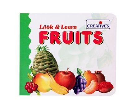 Creatives - Look & Learn - Fruits