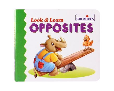 Creatives - Look & Learn - Opposites