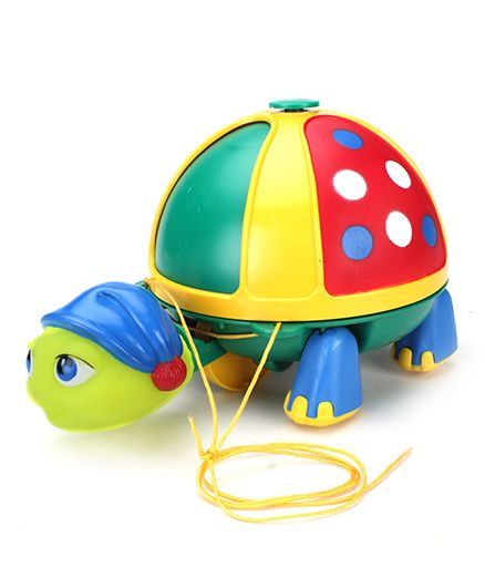 Giggles Roly Poly Turtle - Green