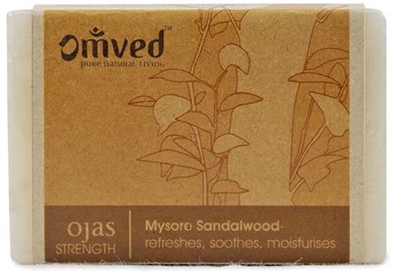 Omved Ojas Sandalwood Bathbar - 125 gm