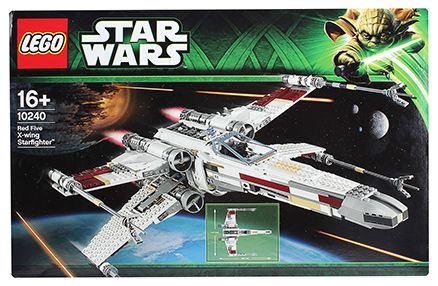 Lego Red Five X-wing Starfighter Building Set