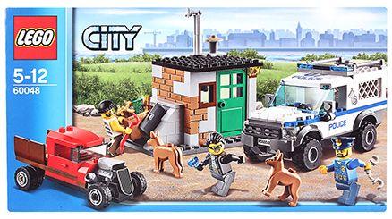 Lego Police Dog Unit Building Set- 249 Pieces