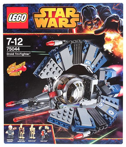 Lego Droid Tri-Fighter Building Sets- 268