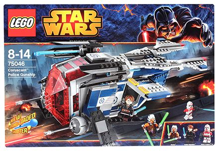 Lego Coruscant Police Gunship Building Set- 481 Pieces