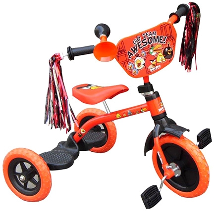 Angry Birds Tricycle With Shiny Frills