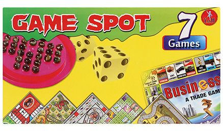 Yash Toys Game Spot 7 In 1 Games