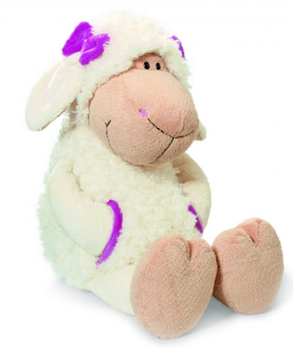 Nici Sheep Jolly Girl Katie Soft Toy with Clothing