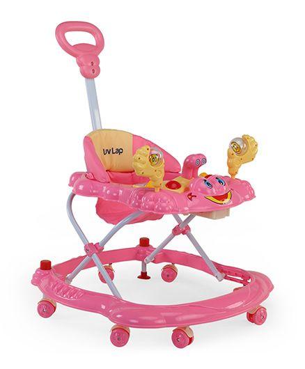 Luv Lap Sunshine Musical Baby Walker - Pink