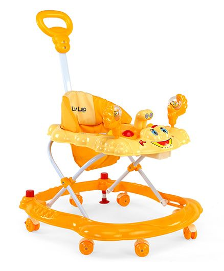 Luv Lap Sunshine Musical Baby Walker - Yellow