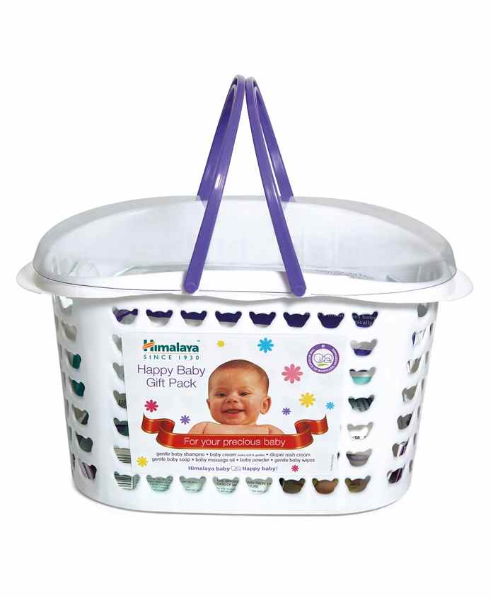 Himalaya Herbal Babycare Basket Gift Pack - Set Of 7