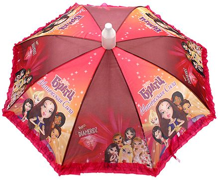 Fab N Funky Maluyeckar Cuna Girls Printed Umbrella