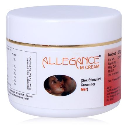 LA Herbal Allegance M Sex Stimulant Cream - For Men