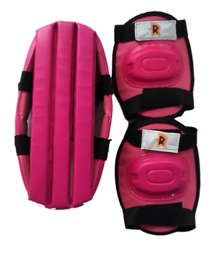 Chhota Bheem Roller Skates Protective Gears - Pink