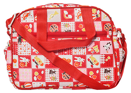 Littles Mama Bag - Red