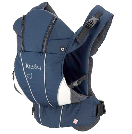 Kiddy Heart Beat Denim Baby Carrier - Upto 14 Kg