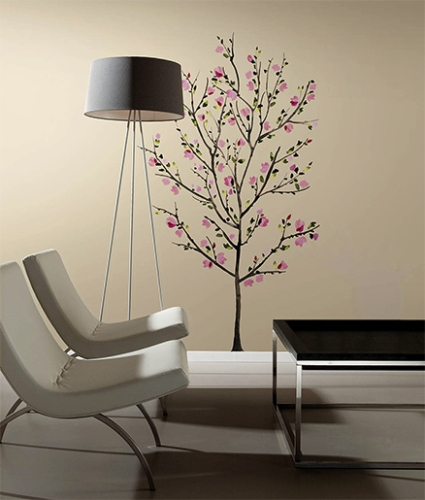RoomMates Pink Blossom Tree Giant