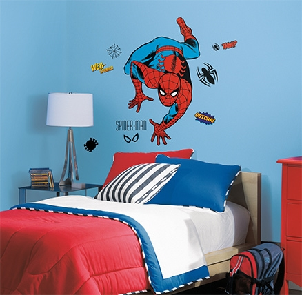 RoomMates Spiderman Classic Giant Decals - 24 Decals
