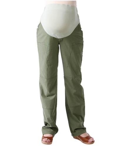 Morph Casual Green Maternity Pant