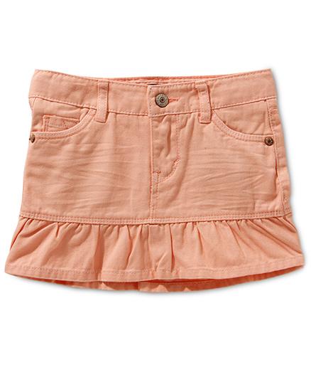 LEVIS Alessandra Scooter Skirt - Malibu Peach