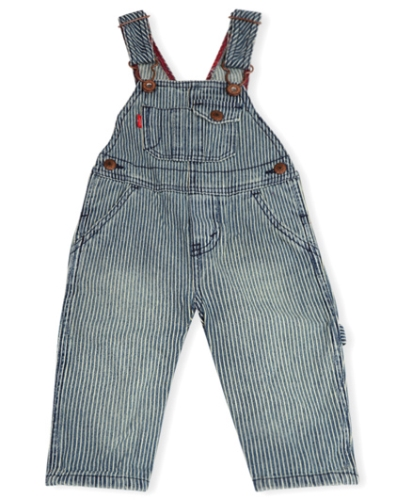 LEVIS Overall With Snappy Tape Dungaree - Grey