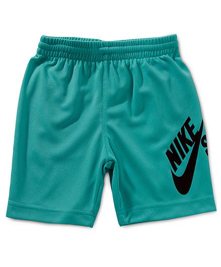 Nike Sunday Mesh Shorts with Nike Print - Blue