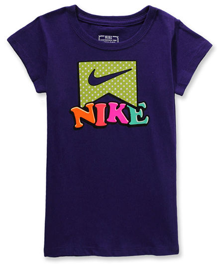Nike Dot Dot Dot Short Sleeves Tee Violet