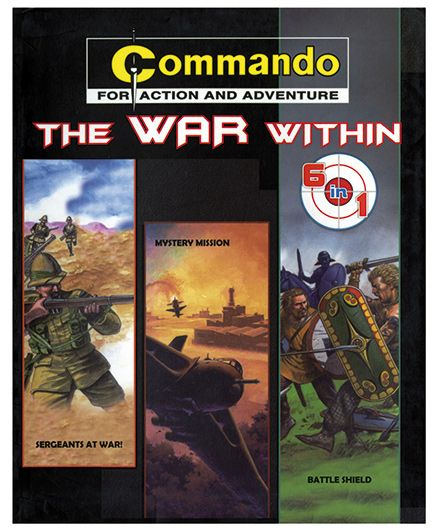 Shree Book Centre Commando The War Within 6 In 1 - English