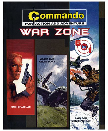 Shree Book Centre Commando War Zones 6 In 1 - English