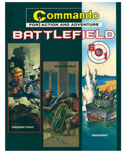 Shree Book Centre Commando Batttlefield 6 In 1 - English