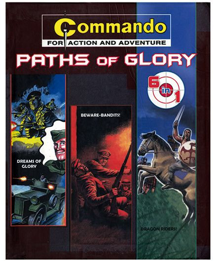 Shree Book Centre Commando Paths Of Glory 6 In 1 - English