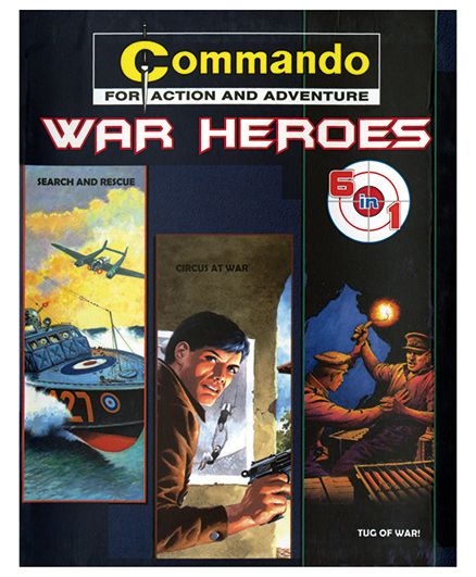 Shree Book Centre Commando War Heroes 6 In 1 - English