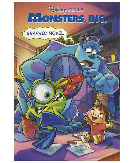 Shree Book Centre Disney Pixar Monsters Inc - English