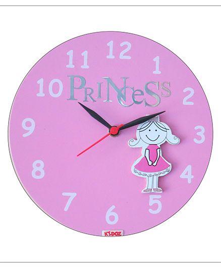 Kidoz Princess Wall Clock