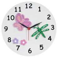 Kidoz Butterfly Wall Clock