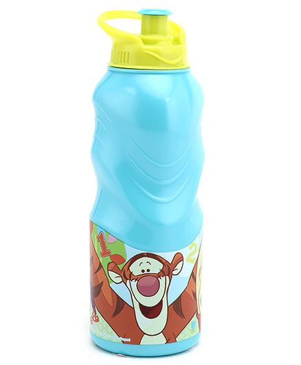 Winnie the Pooh Sipper Bottle Blue And Yellow - 400 ml