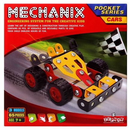 Zephyr - Mechanix Pocket Series Cars