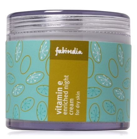 Fabindia Vitamin E-Enriched night Cream - For Dry Skin