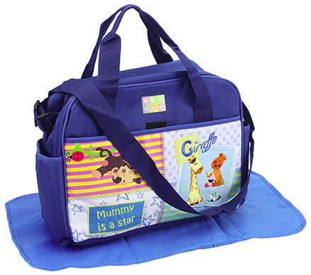 Mee Mee Mamas Nursery Bag - Blue