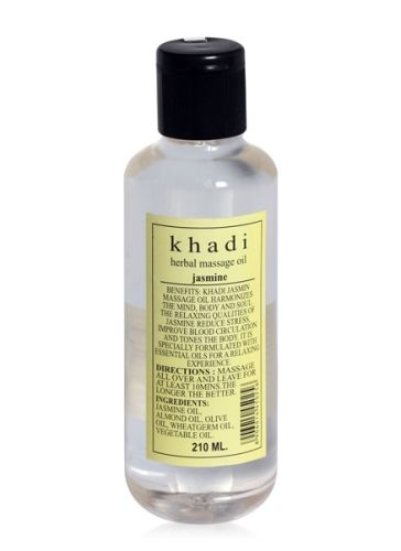 Khadi Jasmine Herbal Massage Oil