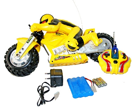 Adraxx Powerful Super Bike Toy With Remote Control