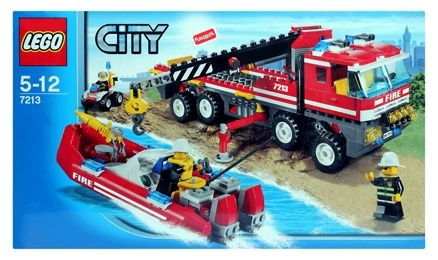 Lego - Off Road Fire Truck & Boat